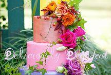 #weddingcake rainbow
