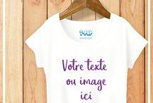 Personnalisation : de chouettes idées cadeaux. / Créez votre produit en 1 minute chrono sur notre site www.tpop.fr