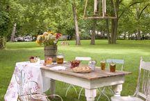 Pretty outdoor spaces