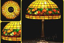 Hand crafted stained glass lamps / Handicrafted stained glass lamps made in Poland. It's not only a craft, but also an art. Every lamp is unique. The mystery of stained glass is light, which makes lamp a living creature. There's no possibility to unnotice them inside the room.  www.e-witraze.pl