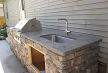 summer oitdoor kitchen