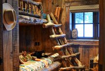 Cabin Decorating Ideas / by Jill Norris