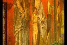 Mysteries of Pompeii , frescoes