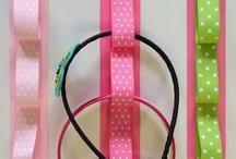 Bandas para cabeza con cinta