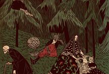 Tin Can Forest / We are Pat Shewchuk and Marek Colek, Canadian artists based in Toronto Ontario who work collaboratively under the name Tin Can Forest. We create sequential art, film and books. Our art is inspired by the the forests of Canada, Slavic art, and occult folklore.