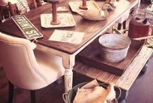 dining table / by Lynel Zimmerman