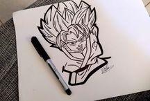 Meus desenhos (My drawings)