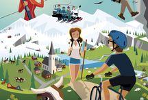 Les Alpes du Léman par Charlie Adam / #Làoh by Charlie Adam