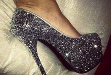 chaussure glitter