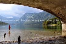 Travel Inspiration / We want to share our amazing photos that we have taken during our travels - along with inspiring quotes.