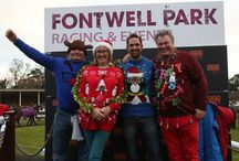 Christmas Jumpers at Fontwell Racecourse / The annual pre Christmas racing including the Christmas jumper competition.