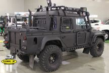 Riot style vehicles