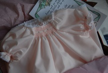 Baby's Smocked Layette  / Baby's Smocked Layette is a pattern by The Old Fashioned Baby