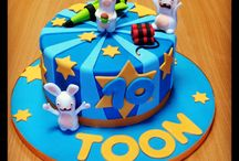rabbid invasion cake