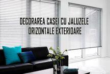 jaluzele orizontale exterioare / jaluzele orizontale exterioare