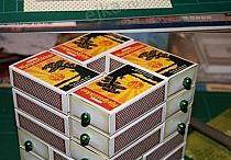 Caixa de fosforos