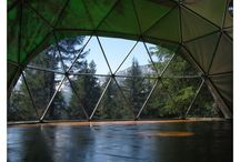 Dome Main Building / Some visual inspiration for dome as main building.