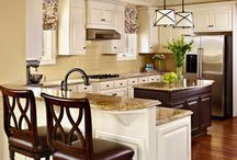 Staged Kitchens / The Kitchen is a key to the sale of any home.  It has to be Staged to sell for top dollar! #Kitchens #Staging #Home Staging / by Barb Schwarz, Stagedhomes.com IAHSP