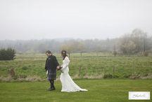 Foggy wedding day