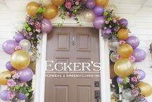 Balloons & Flower Combinations