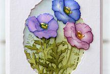 Cardzzz...Flowers / by Cat o phile