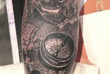 Tattoos I want in sleeve