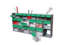 Storage for small parts, tools, and more