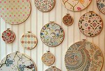 Fabric Wall Decor Art Projects