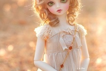 art dolls & bjds / by Kennie Rolle-Bevan