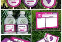 Little Chef / Top Chef Party Ideas & Printables