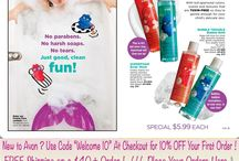 Avon Campaign 16 Brochure Catalog - | Avon For Kids Bath And Body