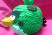 (Angry) Birds Crochet/Needlework
