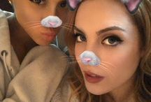 Ariana Grande with Friends/Family