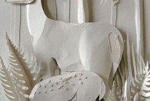 Rzeźby z papieru