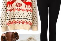 christmas cozy outfits