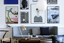 Living in Black & White / Neutral, black and white based living space / by Jenica Sparks