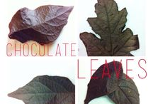 DIY Chocolate Food Art / Tutorials, inspiration, and more.