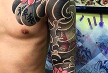 Japán tetoválások!!!