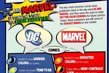 comic moodboard