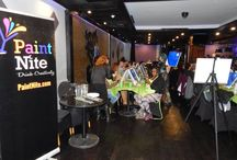 Paint Nite Events / Join us for a fun night out when we host our Paint Nite Events in Royal Regency Hotel's Venue Lounge in Yonkers.   / by Royal Regency Hotel
