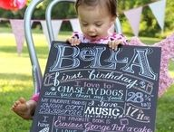 First birthday party / by Christal