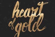 Heart of Gold Theme Party