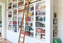 Shelving & books
