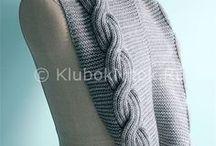 шарфы, снуды