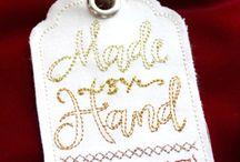 Hímzett Hand Made tábla-Embroidery Plate Hand Made