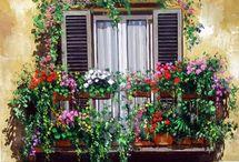 Balconi e Giardini in fiore