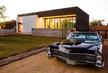 Autos und Häuser / Fotos von Häusern und Autos. Coole Kombi.