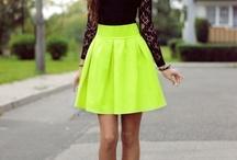 Dresses and heels