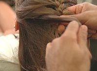 cabelos com tranças embutidas