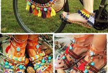 Diy Sandal etnic